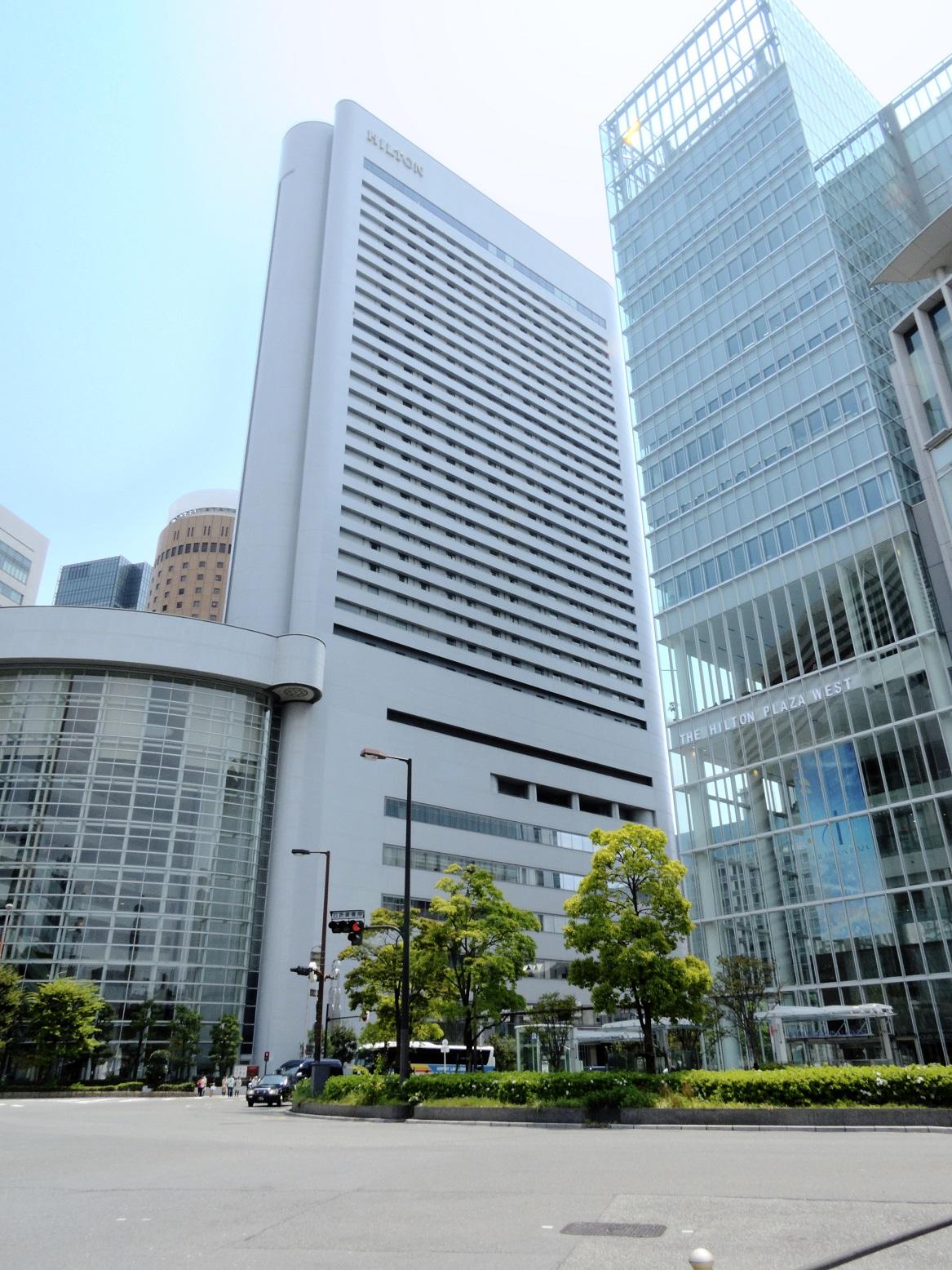 ヒルトン大阪 - 外観
