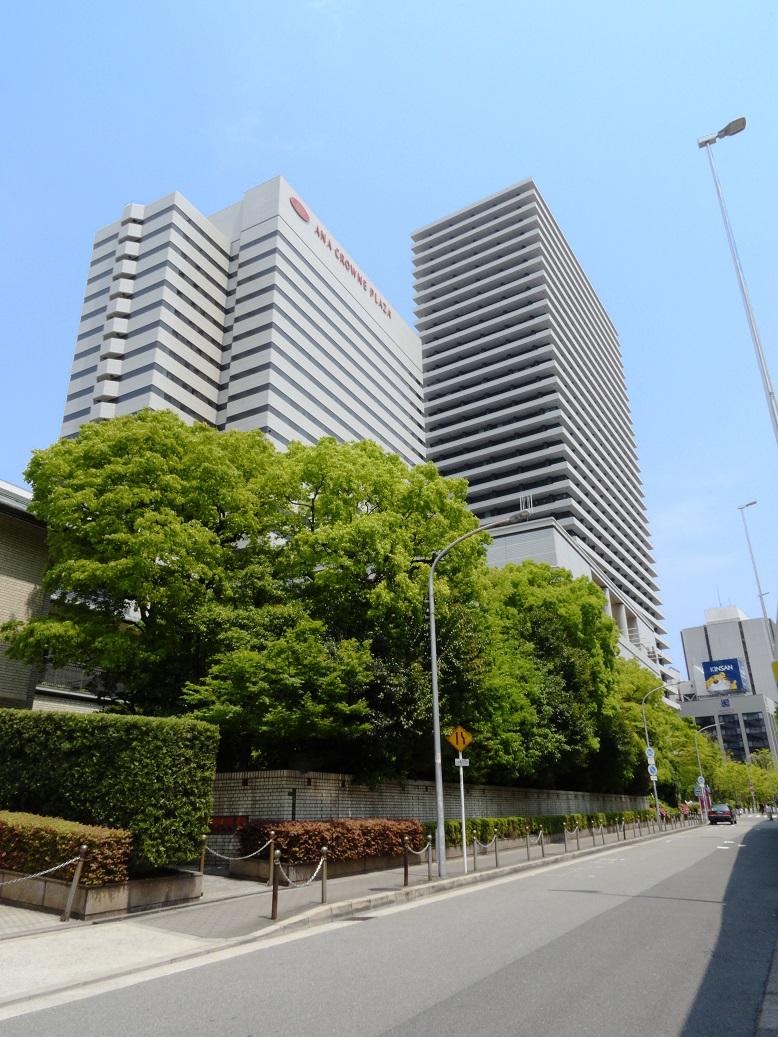 ANAクラウンプラザホテル大阪 - 外観